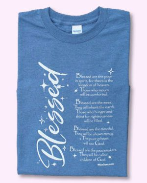 BLESSED Christian t-shirt