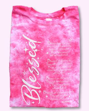 Blessed Christian Tie Dyed T-shirt