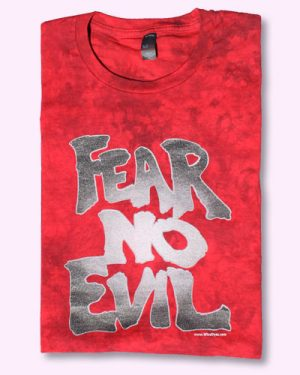 FEAR NO EVIL - Tie Dyed Christian T-shirt