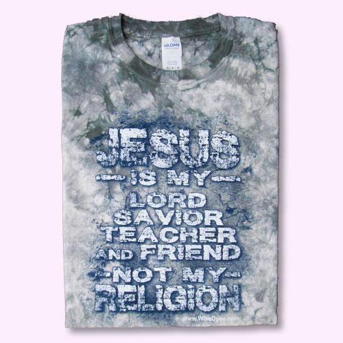 JESUS NOT RELIGION