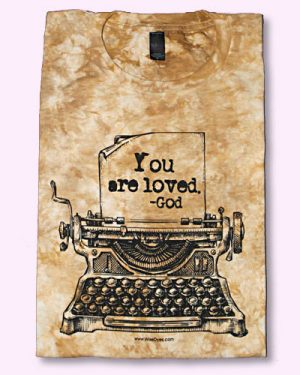 YOU ARE LOVED Christian Tie Dyed T-shirt